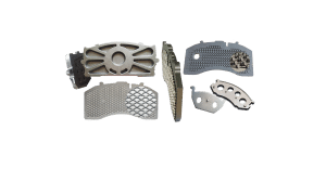 brake pads steel back plate supplier factory & Manufacturer cast iron & weld wire mesh & hook NRS back plate
