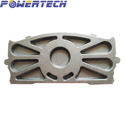 cast backing plate for truck&trailer brake pad