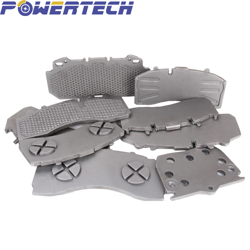 cast wire mesh punch back plate for brake pad group