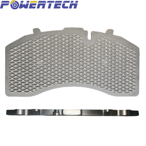 point&full&point welded wire mesh back brake for truck&trailer&CV brake pad