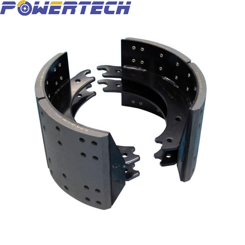 heavy duty truck&trailer axle brake shoes