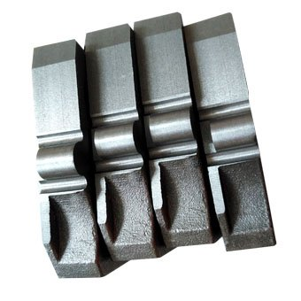cast backing plates heavy duty truck brake pad