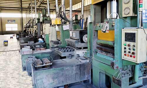 Friction pa hot press machine