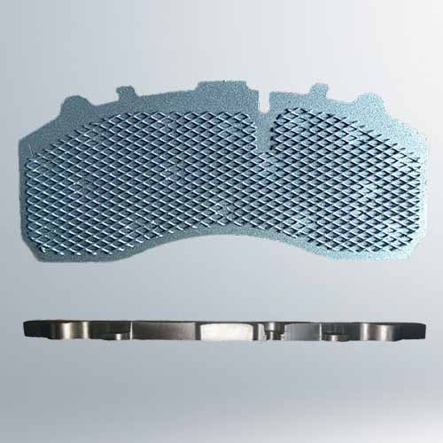 Wire mesh backing plates steel mesh plates steel pattern for brake pads