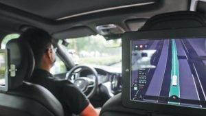autonomous-truck road test