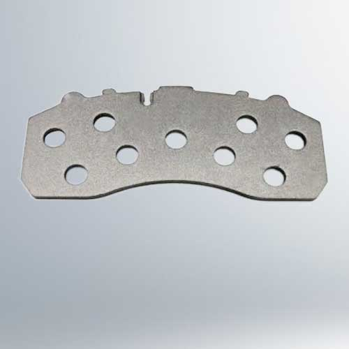 truck trailer brake pads hole back plate brake pad back plate suppliler exporter