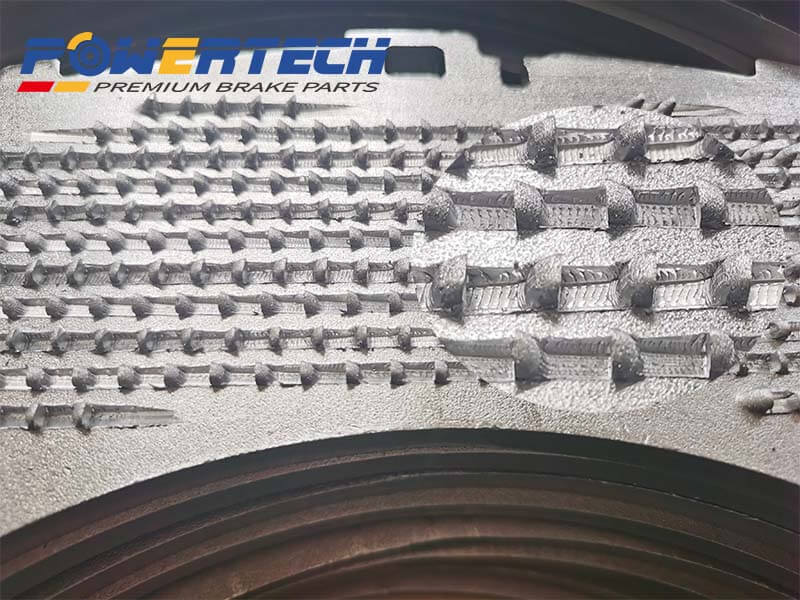 Hook back plate NRS steel backing plate-manufacturer supplier factory in china Powertech auto parts truck and trailer brake parts