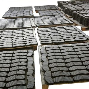 Mass prodcution CV truck bus brake pads manufacturer & supplier & factory Powertech auto parts