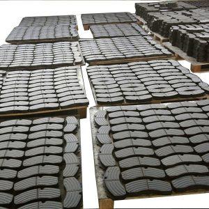 Mass prodcution CV truck bus brake pads manufacturer & supplier & factory Powertech auto parts