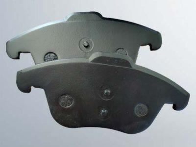 passenger vehicle disc brake pads