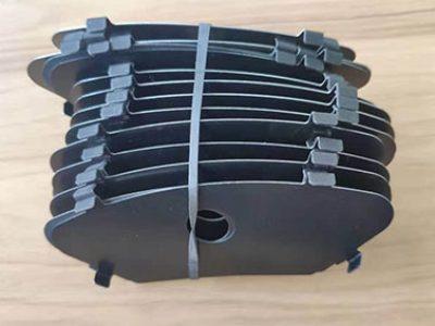 brake pads shim, dampening shim, rubber shim