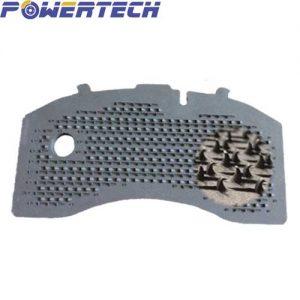 hook backing plate & hook pattern Powertech
