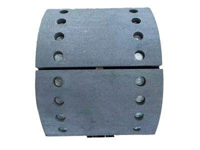 lined brake shoes SK3 SAF300X200 OE343436500 OE3054012901 Ball Type Kits SJ22 23 WVA19515 WVA19516 Powertech Auto parts