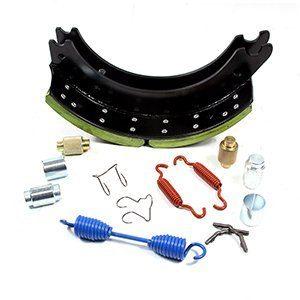 semi trailer drum brake shoes with repair kits