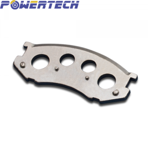 steel back plate for car& passenger vehical barke pad with hole